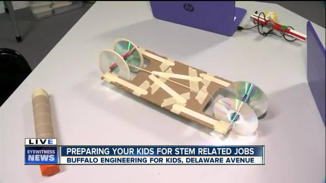 Buffalo Engineering for Kids provides hands on activities