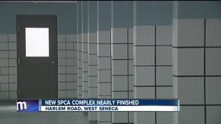 New SPCA complex is nearing opening day