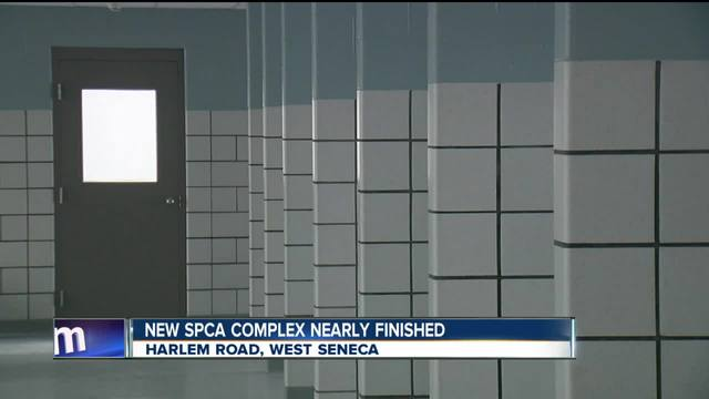 New SPCA complex nearly finished