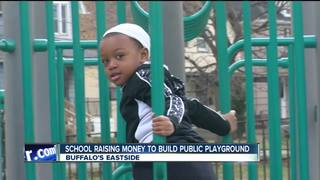 Buffalo school raises money for playground