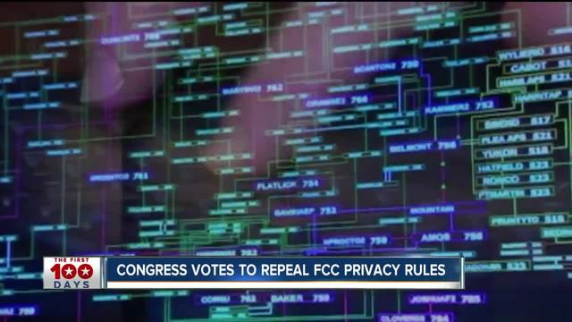 Congress votes to repeal FCC privacy rules