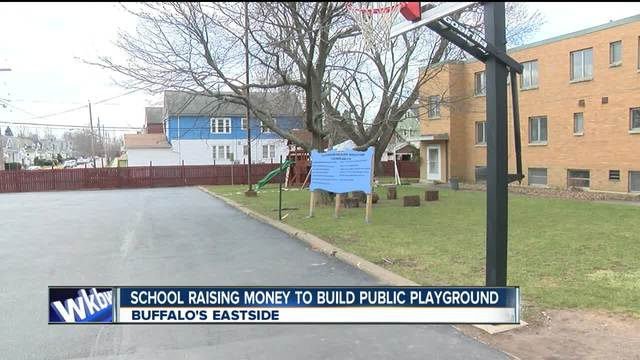 School tries to raise money for public playground