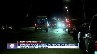 Buffalo police investigating overnight stabbing