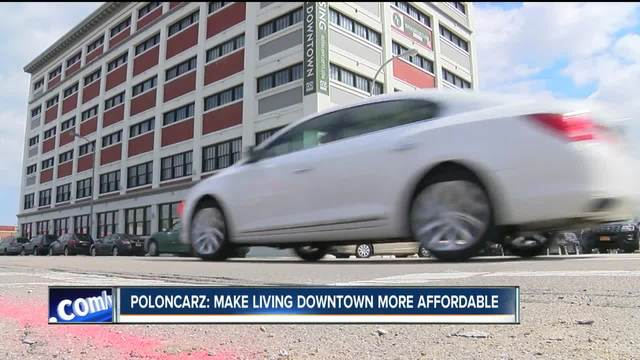 Poloncarz- Make living Downtown more affordable PKG