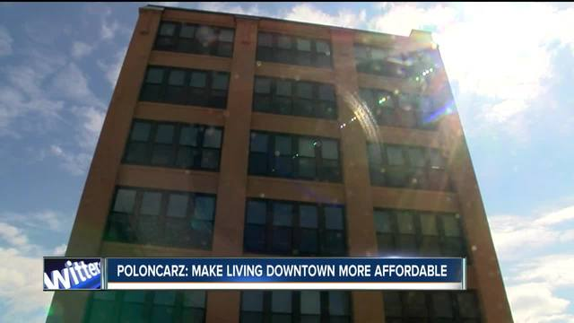 Poloncarz- Make living Downtown more affordable VOSOT
