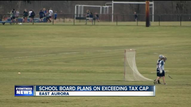 East Aurora schools plan on exceeding tax cap