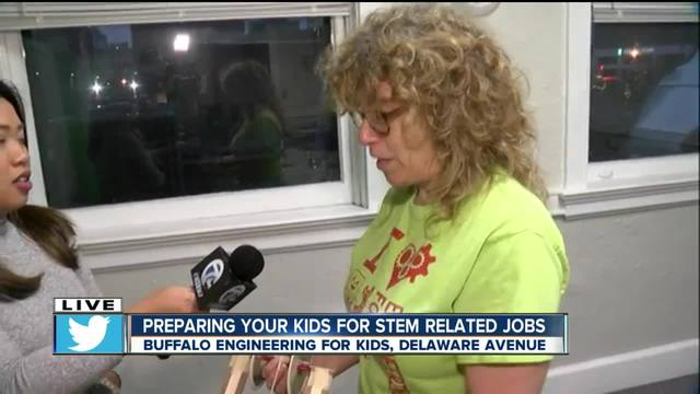Buffalo Engineering for Kids prepares students for careers in STEM fields
