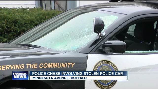 Police crash involving stolen patrol car pkg