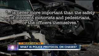 Did Buffalo Police follow rules during chases?