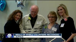 Meals on Wheels volunteers honored for service