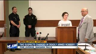 Deadly armed robbery suspected arraigned