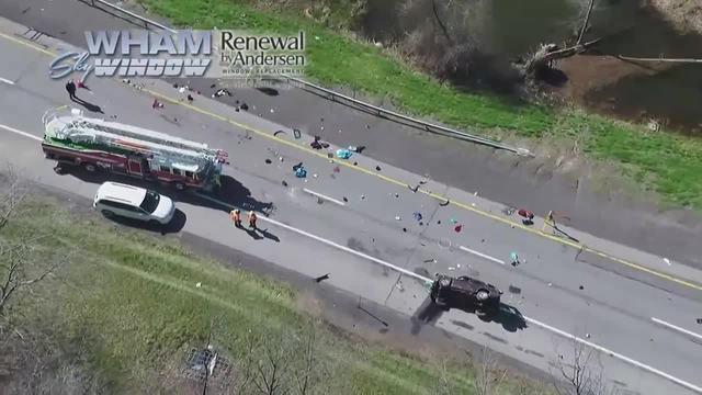Two Children Killed in Thruway Crash