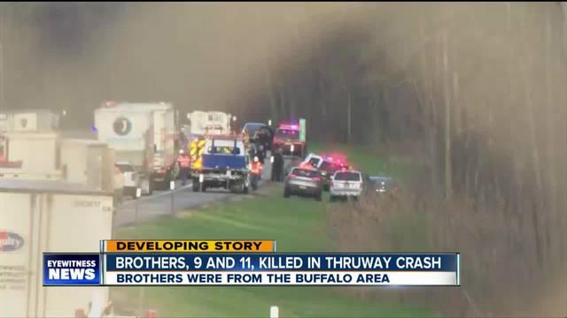 State Police identify boys killed in Thruway crash