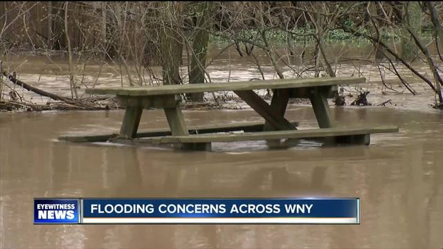 Record rains cause flooding problems