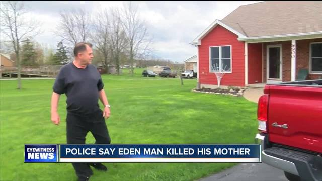 Eden man accused of killing mother found at PA motel