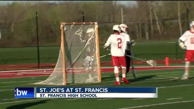 St. Joe's improves to 3-3, tops St. Francis 16-3