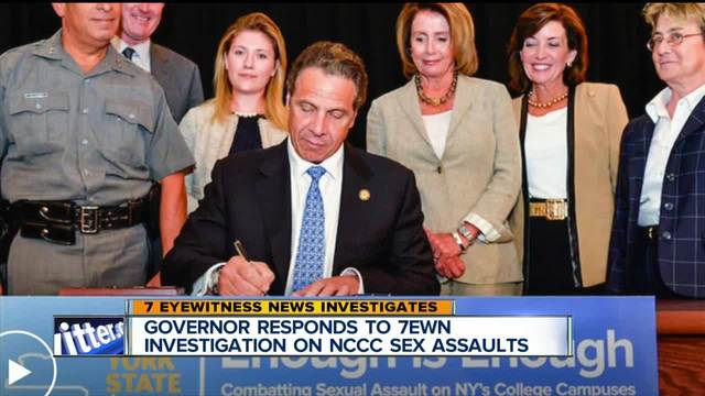 Governor Responds to 7 Eyewitness News Investigation on NCCC
