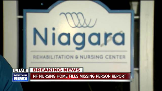Niagara Falls police investigating a missing man from rehab center