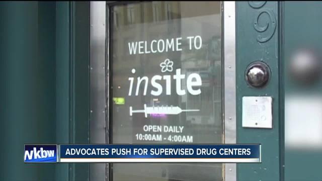 Advocates push for drug consumption sites