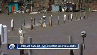 High Lake Ontario levels pose hazard for boaters