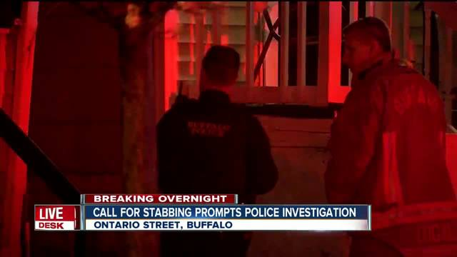 Buffalo police investigate report of stabbing