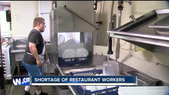 Competition for restaurant workers