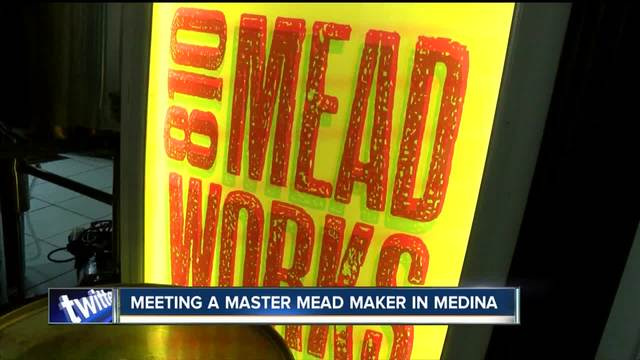 Meeting a master maker of mead in Medina