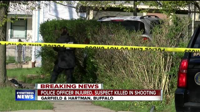 Police officer shot and suspect killed in Buffalo
