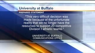 UB students, alumni protest proposed sports cuts