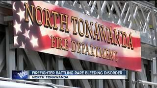 N Tonwanda firefighter battles rare disorder