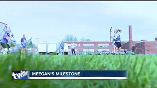 Molly Meegan hits Mount Milestone