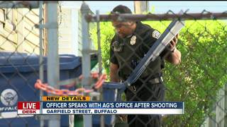 Buffalo cop speaks with AG's office on shooting