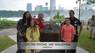 Nik Wallenda talks about new stunt for the Falls