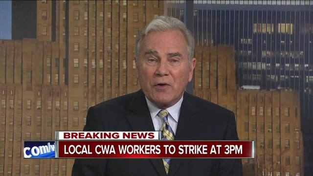 CWA workers in Harrisburg begin weekend strike against AT&T