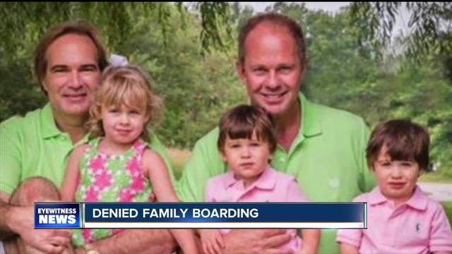 Same-sex parents say Southwest Airlines discriminated against them