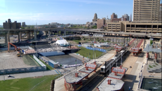 Canalside buckles down for July 4th!
