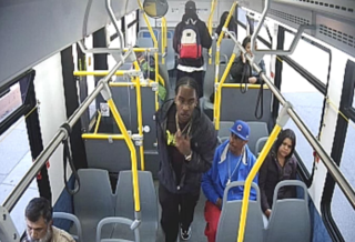 Suspect wanted for stabbing in bus terminal