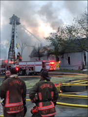 East side fire damages at least 8 homes