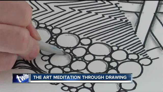 Creating art for stress reduction and relaxation