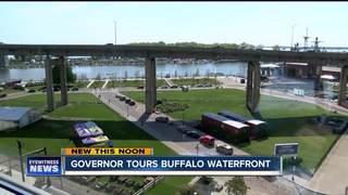 Cuomo, Hochul tour Buffalo's Waterfront