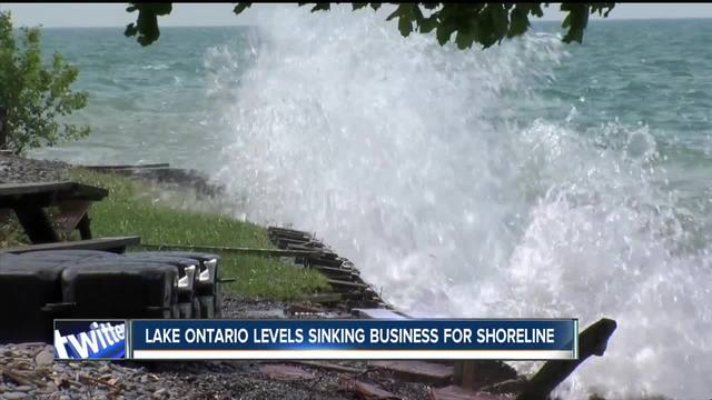 Lake levels sinking holiday business