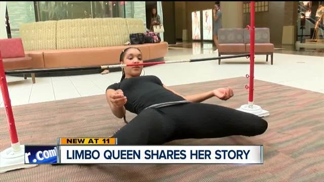 Limbo queen shares her story