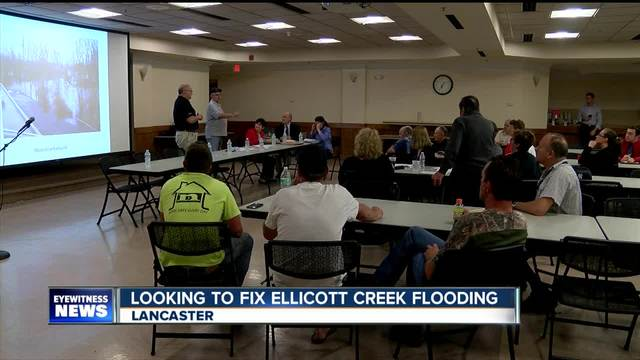 Neighbors want a fix for Ellicott Creek flooding