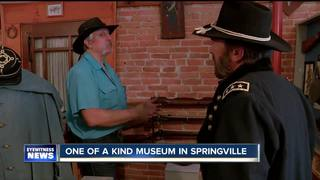 One of a kind Civil War museum in Springville