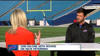 Bills' rookie QB talks faith, family & football