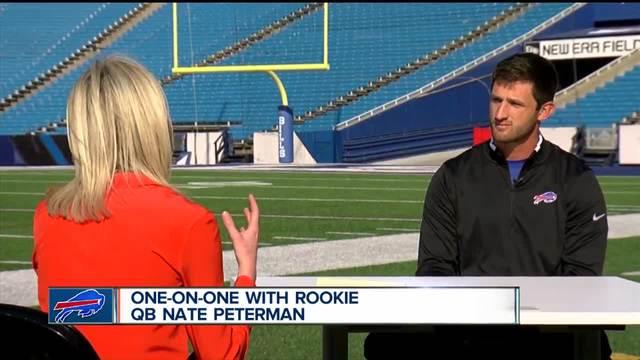 Bills- rookie QB talks faith- family - football