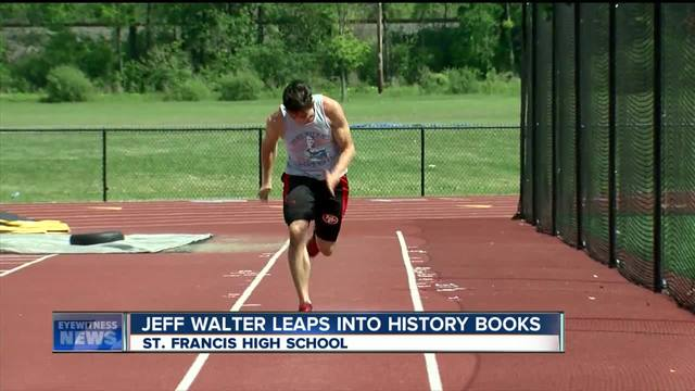 St. Francis senior breaks 35 year old record