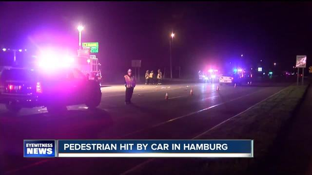 Pedestrian hit on Route 20- suffers -major injuries-