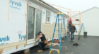 Student-built homes going up for auction