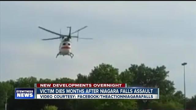 Victim dies months after Niagara Falls attack